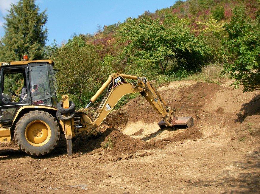 A tereprendezés lényege, bobcat földmunkagép bérlés segítségével!